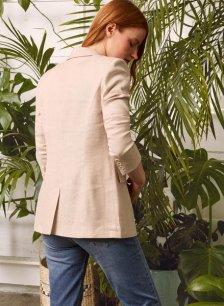 Shop Lennox Linen Blend Jacket and more