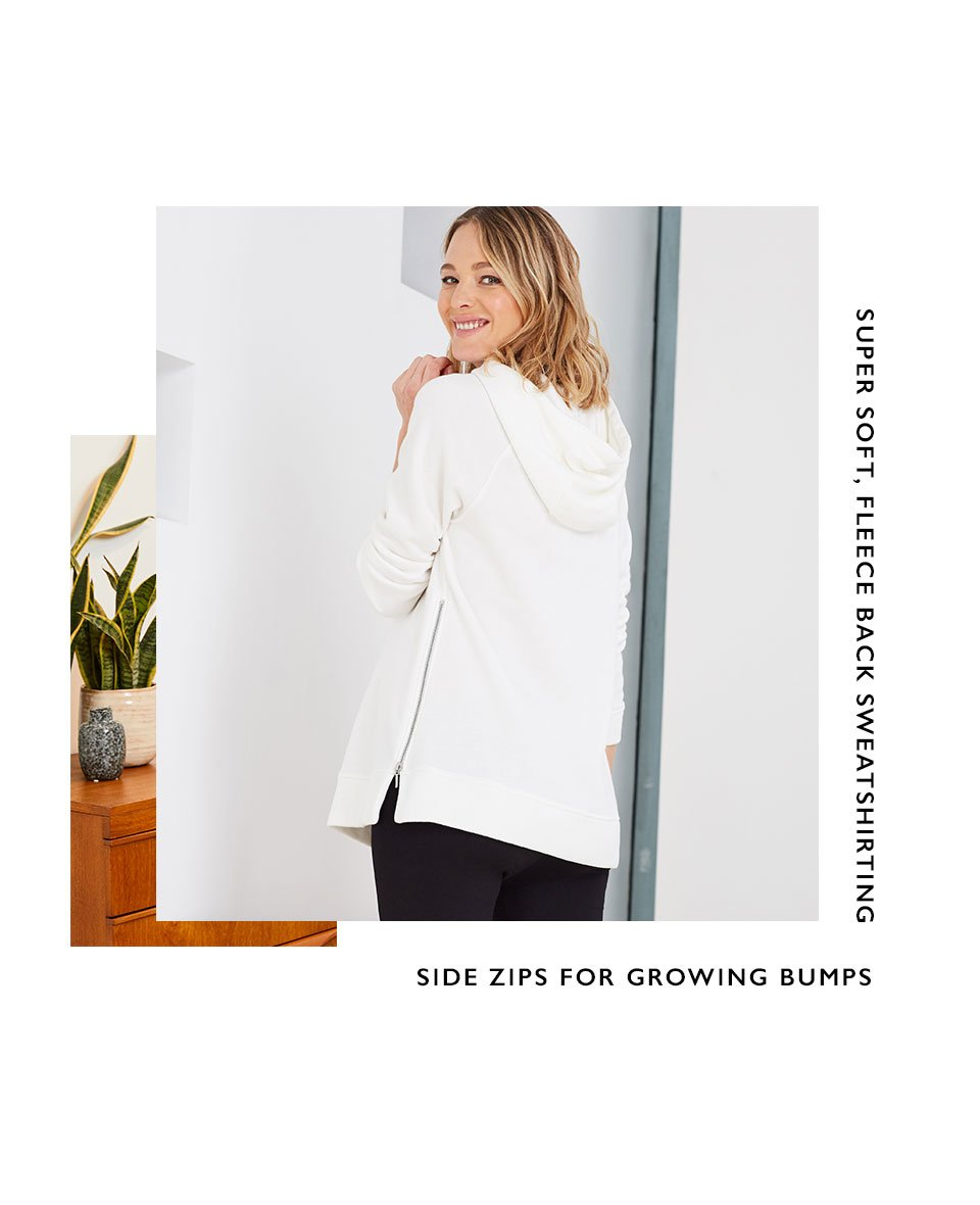 Shop Isabella Oliver The Maternity Lounge Hoodie and more