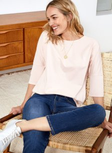 Shop Kendra Organic Top Rose and more