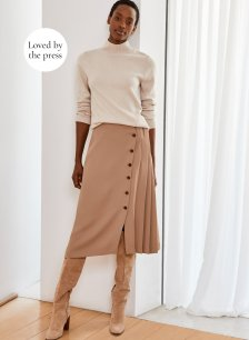 Shop Florian Skirt Clay and more