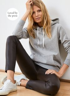 Shop Marte Hoodie Mid Grey Marl and more